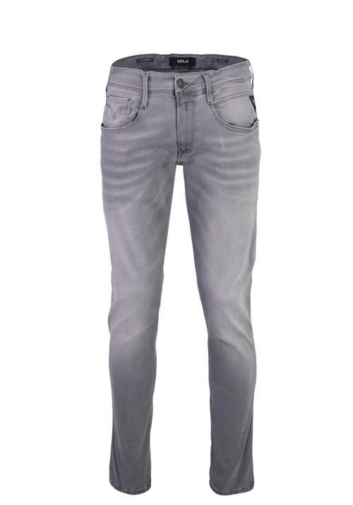 REPLAY Jeans 5 Pocket Hyperflex Stretch mittelgrau
