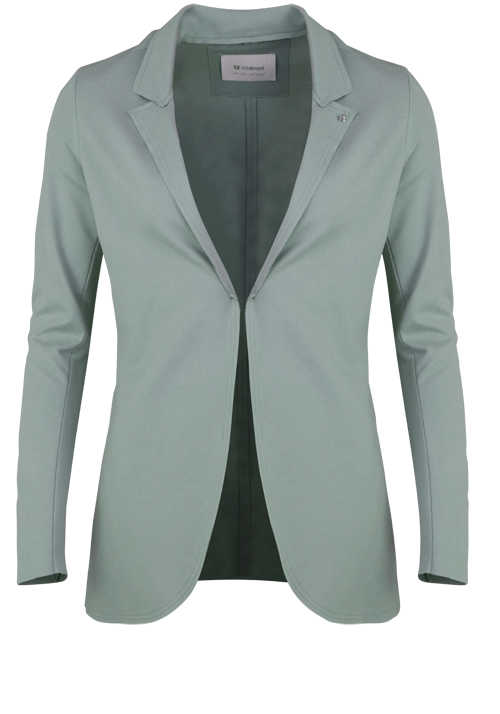 RICH&ROYAL Langarm Sweat-Blazer Reverskragen mint