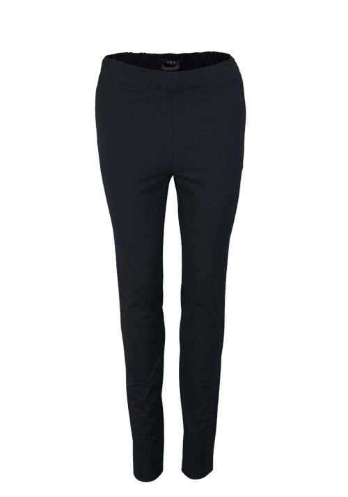 SET Skinny Leggings Gummibund Stretch schwarz