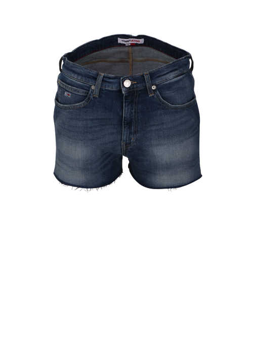 TOMMY HILFIGER Hotpants Button-Zipp-Verschluss 5-Pocket dunkelblau