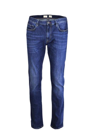 TOMMY HILFIGER Jeans Denton Stretch Used dunkelblau