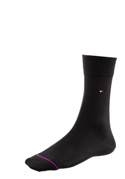 TOMMY HILFIGER Socken mercerisiert dunkelbraun Lexington 422101001/937