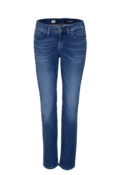 TOMMY HILFIGER Straight Jeans ROME Stretch dunkelblau