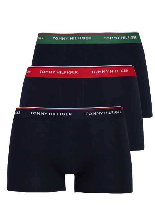 TOMMY HILFIGER Trunk 3er Pack Stretch blau