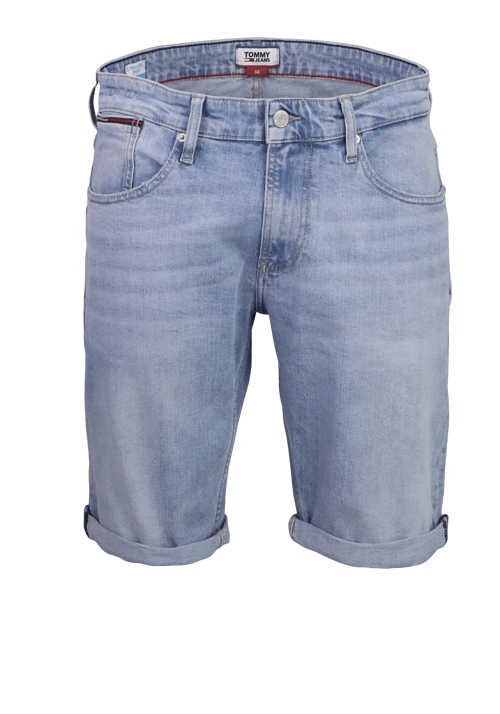 TOMMY JEANS Relaxed Fit Jeans Short RONNIE Used hellblau